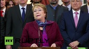 Chile: Bachelet dismisses Bolivia's gains from UN court ruling