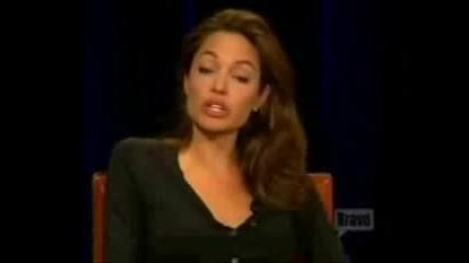 Анджелина Джоли - Интервю (част 3)