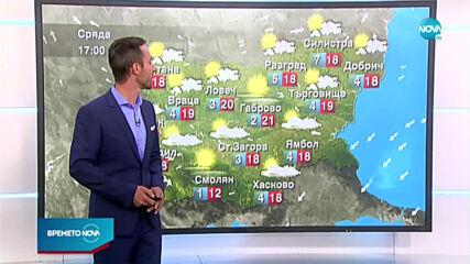 Прогноза за времето (21.10.2020 - обедна емисия)