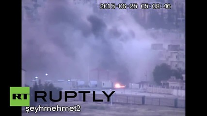 Turkey: Car bomb explodes in Kobane as IS launches new offensive
