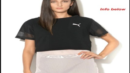 Puma Къса тениска с мрежести ръкави и Puma Топ Xtreme