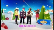 Превод !!! Disney Channel Christmas Ident 2009 - Lyrics Hilda Stenmalm - A little Magic