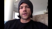 Jared Padalecki - And the signed T-shirt winners are