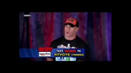 John Cena - Smackdown Your Vote
