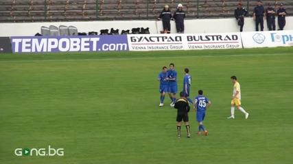 Академик - Левски 0-3, головете от второто полувреме