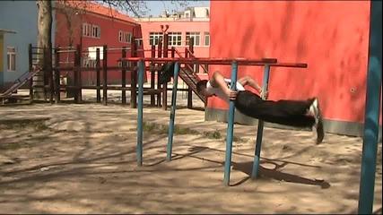 Уличен фитнес в Силистра 24.04.2011