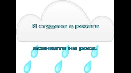 Песен за дъждовните капки