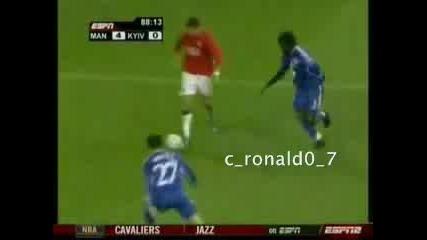 Cristiano Ronaldo Uefa Cl 07/08 Goal!!!