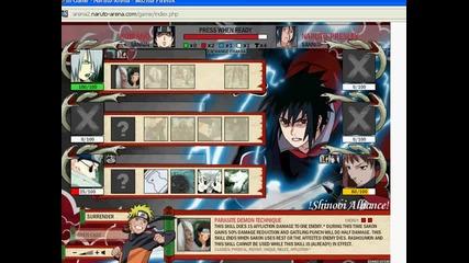 Naruto Arena - Една моя битка