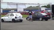 Драг - Bmw M3 e36 vs Opel Corsa B (wins) - 1/4 Mile