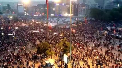 3-ти Май - Вълна от протестиращи #occupygezi