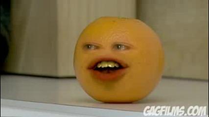 Портокал си говори с Дядо коледа