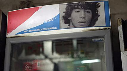 Maradona's hometown Villa Fiorito honours late legend with football game