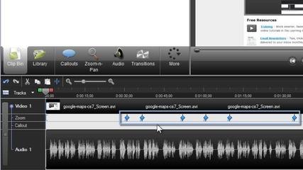 Как се работи с Camtasia studio 7 част