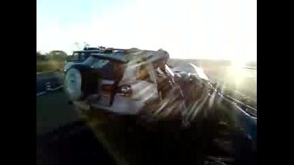 Снимки след катастрофата с Тоше Проески