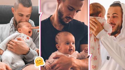 Наум Шопов сподели трогателна снимка с малката Амая