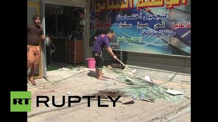 Ирак: Четирима мъртви, единадесет ранени при бомбена атака с кола в Багдат