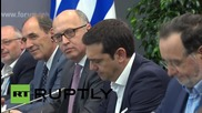 Russia: Putin meets with Tsipras, praises bilateral ties with Greece