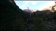 Моментът на изригването на вулкана Калбуко в Чили