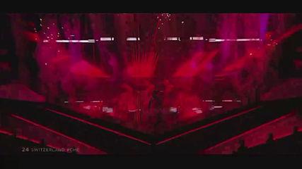 Швейцария на Евровизия 2019 Luca Hаnni - She Got Me - 4-то място