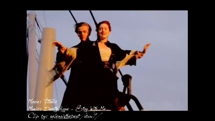 Rose And Jack! Stay with me... (titanic)