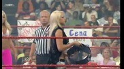 Raw 06/01/09 Kelly Kelly & Mickie James vs Beth Pheonix & Maryse