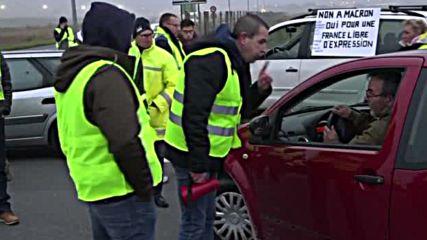 Инциденти белязаха протестите срещу високите цени на горивата във Франция