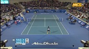 Nadal vs Raonic - Abu Dhabi Final 2016