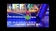 Индийско момиче с 1 крак танцува - гледайте !!!!!