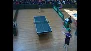 Тенис на маса Финал Голованов 4 3 Йорданов
