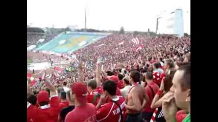 Цска - Динамо 20.08.09. - Цска е отбора,  един единствен на света !!!
