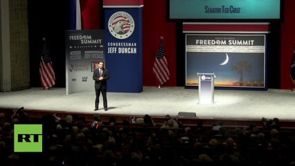USA: Presidential hopeful Ted Cruz calls for abolition of Obamacare and IRS