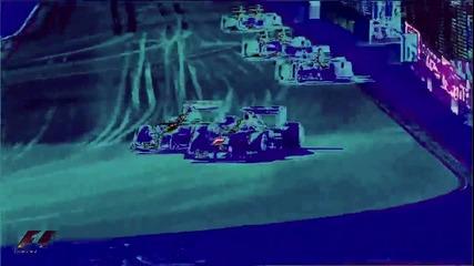 Най-интересното от 1-вата половина на сезон 2012 в F1 3 D