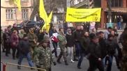 Ukraine: Odessa activists protest 'economic occupation' of S. Ukraine