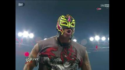 Rey Mysterio is Back! [ Wwe Raw; 16.7.12 ]