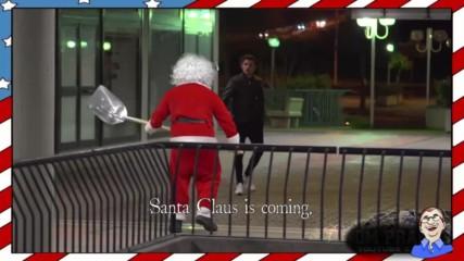 Дядо Коледа убиец се завръща - Жестока шега