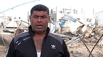 State of Palestine: Cleanup underway after 130 Israeli airstrikes in Gaza Strip