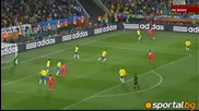 15.06.2010 Бразилия - Северна Корея 2:1 Всички голове и положения - Мондиал 2010 Юар