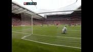 Манчестър Юнайтед - Арсенал 8:2 Всички голове на Юнайтед 28.08.2011