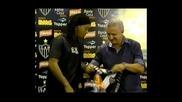 Сколари върна в националния отбор Роналдиньо и Жулио Сезар
