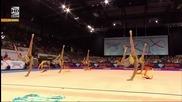 България - ленти - Световно първенство по художествена гимнастика - Щутгарт 2015