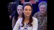 Мис България стана именно Антония Петрова на 24 години от Перник,  която се сдърпа с Милен Цветков!