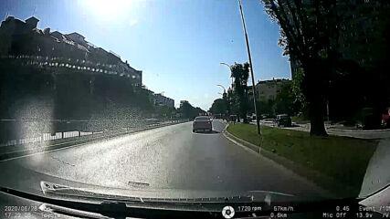 Абсурдна скорост в градски условия