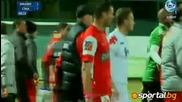 Платини помля футболисти на Динамо Букурещ след зверски шпагат в краката му (1)
