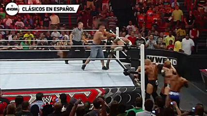 John Cena vs CM Punk – Raw: Jun 7, 2010 (Lucha Completa)