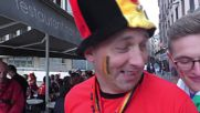 France: Belgium and Italy supporters gather in Lyon ahead of Euro clash