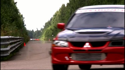 Moscow Unlim 500 - Evolution 8 969 hp - 1 mile in 25 sec.