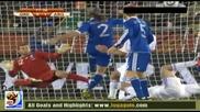 22.06.2010 Гърция - Аржентина 0:1 Гол на Демикелис - Мондиал 2010 Юар