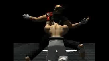 Kazuya Побеждава Девила