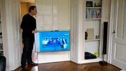 Практична стойка за телевизор